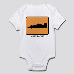 Auto Racing (orange) Infant Bodysuit