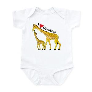7e8f39a3c Giraffe Baby Clothes & Accessories - CafePress