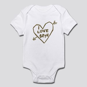 I Love Seth Infant Bodysuit