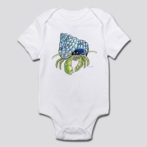 cartoon hermit crab Infant Bodysuit