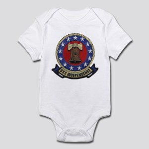 USS INDEPENDENCE Baby Light Bodysuit