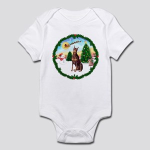 Take Off1/Doberman Pinscher ( Infant Bodysuit