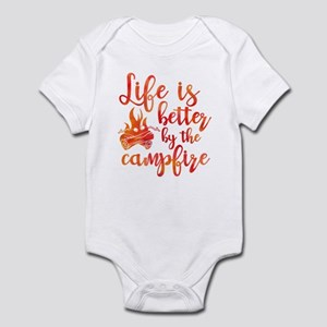 Life's Better Campfire Infant Bodysuit