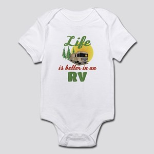 Life's Better In An RV Infant Bodysuit