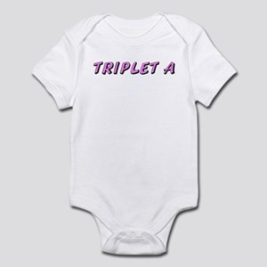 Baby A Pink Triplet Babies Bodysuit