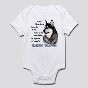 Malamute FAQ2 Infant Bodysuit
