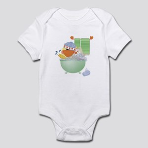 Cute Bathtime Ducky Infant Bodysuit