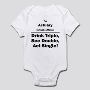 Actuary Infant Bodysuit
