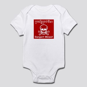Danger Mines, Cambodia Infant Bodysuit