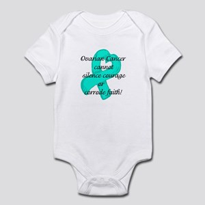 Ovarian Courage and Faith Infant Bodysuit