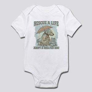 Adopt a Shelter Dog Infant Bodysuit