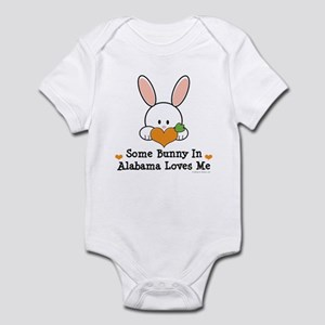 Some Bunny In Alabama Loves Me Infant Bodysuit