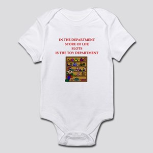 funny slots player Infant Bodysuit