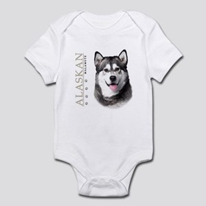 Alaskan Malamute Infant Bodysuit
