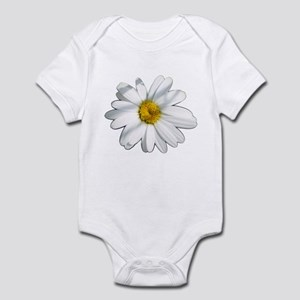 White daisy Infant Bodysuit