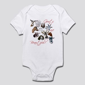 341e014c Goat meh Baby Bodysuit. $22.99 · Goats are Beautiful Infant Creeper