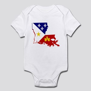 Acadiana State of Louisiana Body Suit