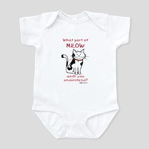 Meow Infant Creeper