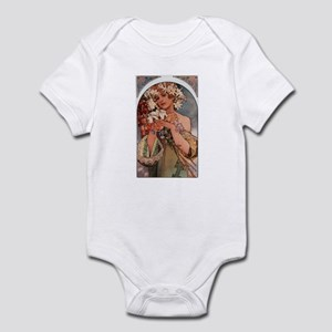 Alphonse Mucha Infant Bodysuit