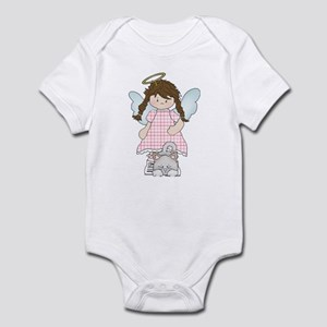 Angel Abby and Fluffy Infant Bodysuit