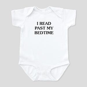 I Read Past Baby Light Bodysuit