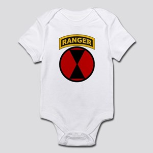 7th Infantry Div with Ranger Infant Bodysuit