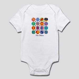 New Orleans Nawlins Themes Infant Bodysuit
