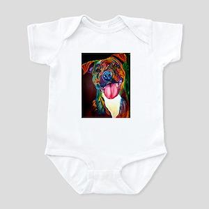 Pit Bull #7 Infant Bodysuit
