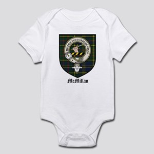 McMillan Clan Crest Tartan Infant Bodysuit