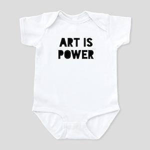 Art Power Baby Light Bodysuit