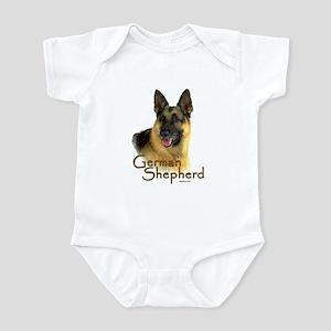 German Shepherd Dog-2 Infant Bodysuit