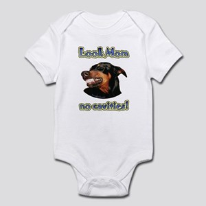 Doberman Humor II Infant Bodysuit