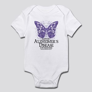 Alzhimers Butterfly 4 Infant Bodysuit