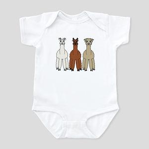 Alpaca (no text) Infant Bodysuit