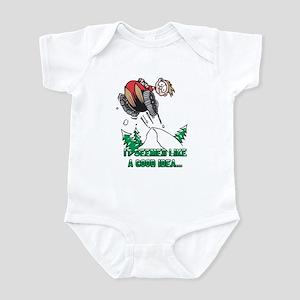 Funny Snowmobile Infant Bodysuit