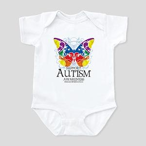 Autism Butterfly Infant Bodysuit