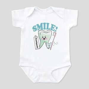 Dentist Dental Hygienist Teeth Infant Bodysuit
