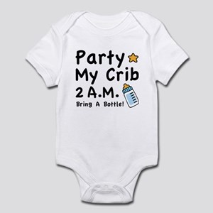 Party My Crib Body Suit