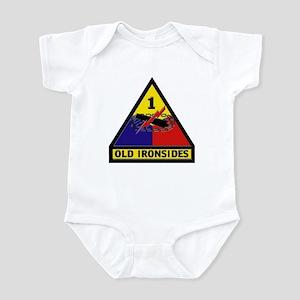 1st Armored Division Infant Bodysuit