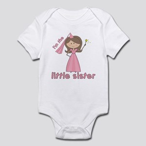 i'm the little sister princess Infant Bodysuit