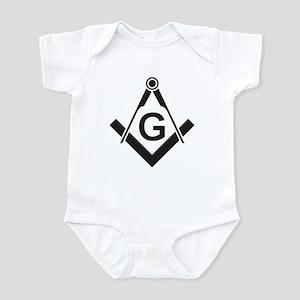 Masonic: Square & Compass Infant Creeper