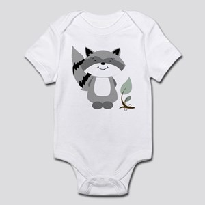 Raccoon Infant Bodysuit
