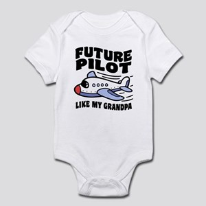 Future Pilot Like My Grandpa Infant Bodysuit