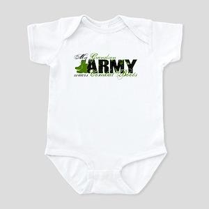 Grandson Combat Boots - ARMY Infant Bodysuit