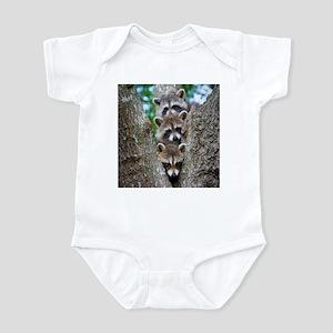 Baby Raccoon Trio Infant Bodysuit