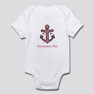 Personalized Nautical Anchor Body Suit