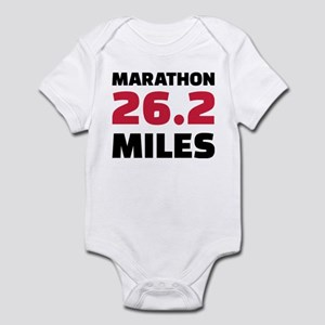 Marathon 26 miles Infant Bodysuit