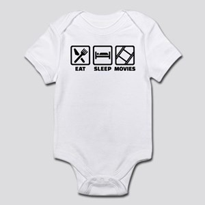 Eat sleep Movies Infant Bodysuit