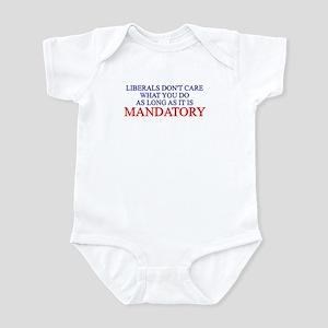 ANTI LIBERAL DEMOCRAT BUMPER Infant Bodysuit