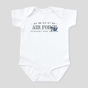 Proud Air Force Dad (Blue) Infant Bodysuit